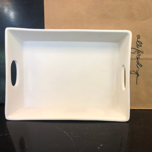 Rectangle Tray with Handles Large