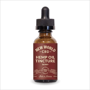 CBD Hemp Oil Berry