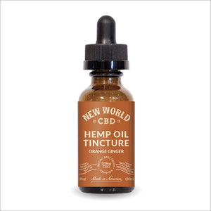 CBD Hemp Oil Orange