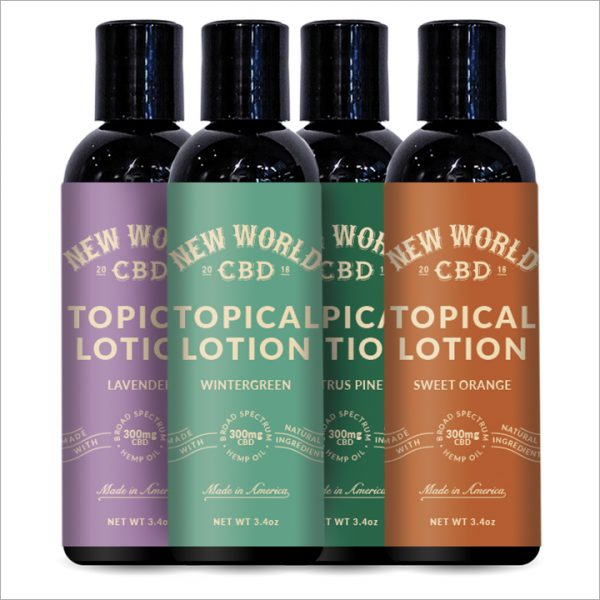 High-Grade CBD Lotion 300mg - 3.4oz