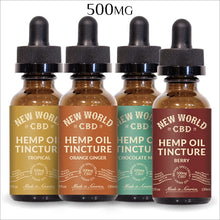 Load image into Gallery viewer, CBD line 500mg Tintures