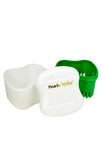Denture Bath | Denture Container With Rinsing Basket