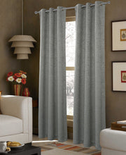 "Load image into Gallery viewer, Dainty Home Ventura Blackout Grommet Panel Pair, 38"" x 84"" Each (set of 2)"