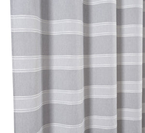 "Dainty Home Madison Striped 70"" x 72"" Shower Curtain"