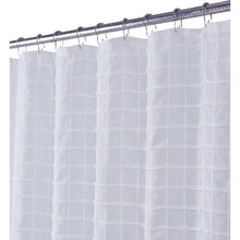 Load image into Gallery viewer, Dainty Home Kelly 70-Inch x 72-Inch Shower Curtain in White