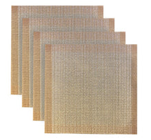 Load image into Gallery viewer, Dainty Home Palermo Square 4 Piece Vinyl Placemat Set (Set of 4)