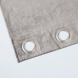 Dainty Home Manhattan Foil Velvet Grommet Panel Pair Set Of 2