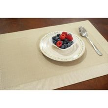 "Load image into Gallery viewer, Dainty Home Napa Textilene Placemat 12""x18"" (Set of 4)"