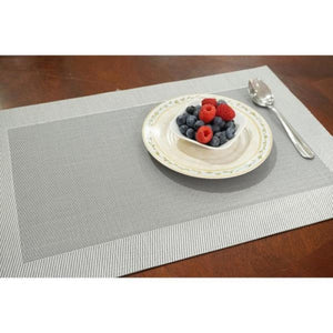 "Dainty Home Napa Textilene Placemat 12""x18"" (Set of 4)"