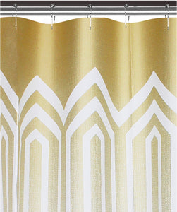 Spa 251 Geo 3D Semi-Transparent Shower Curtain/Liner