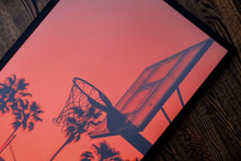 "Load image into Gallery viewer, KOBE! - ""Palm Trees & Basketball"" Fine Art Print 2/3"