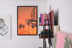 "KOBE! - ""Palm Trees & Basketball"" Fine Art Print 2/3"