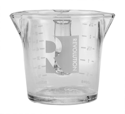 3 oz. Double Spouted Shot Glass