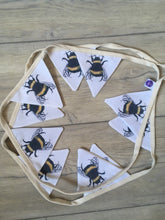 Load image into Gallery viewer, Bee bunting, garland, decor, gift idea, party decor