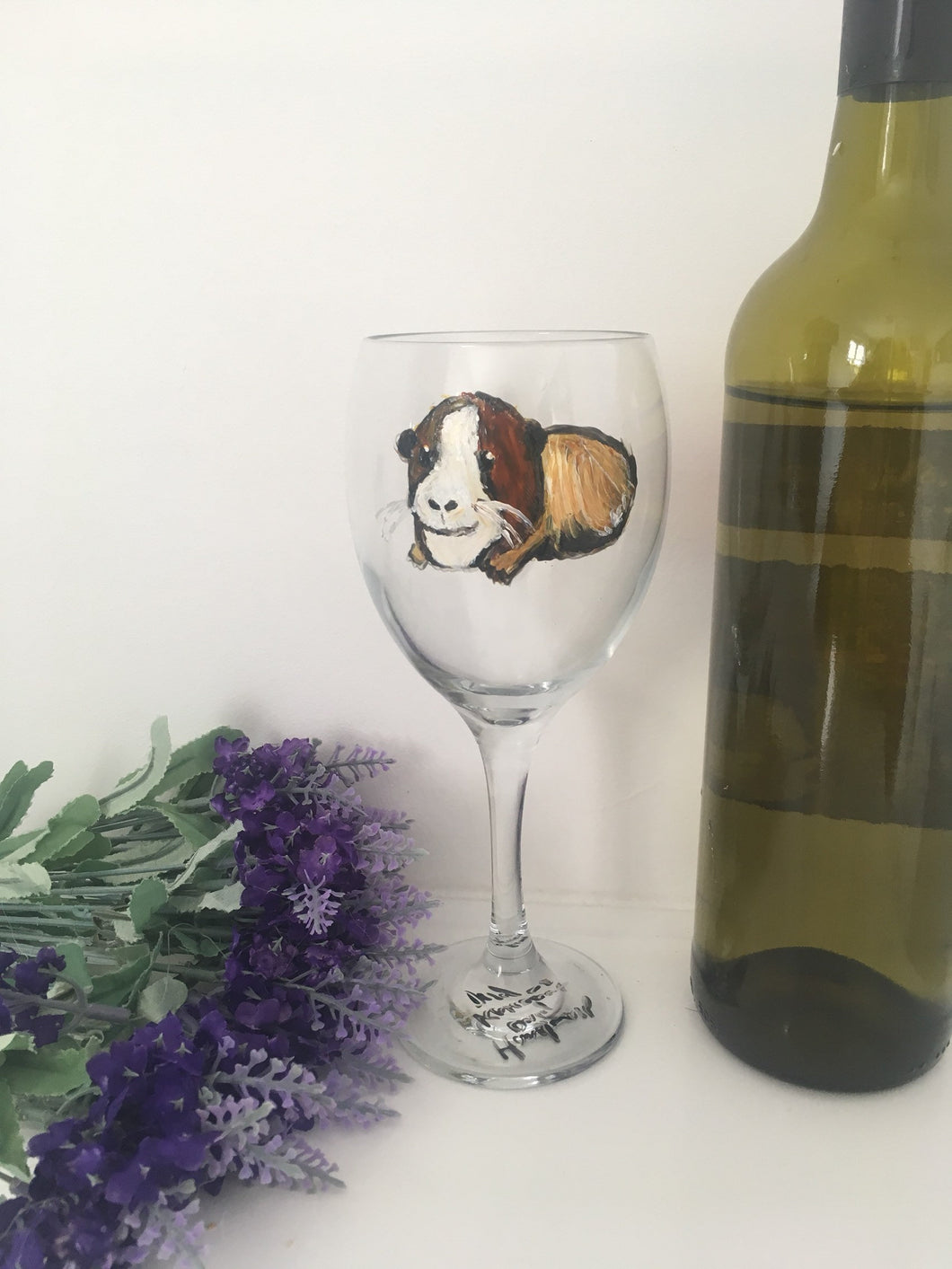 Guinea pig wine glass, gin glass