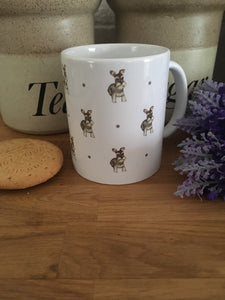 Schnauzer mug. mug and coaster set, gift idea