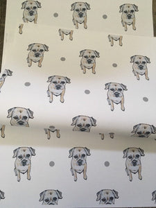 Border terrier , wrapping paper, gift wrap, for border terrier lovers, for dog owners, for dog lovers, read description FOR SMALLER GIFTS