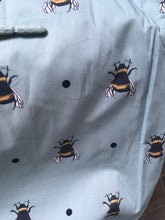 Load image into Gallery viewer, Bee apron, bumble bee apron, pinny, for bee lovers, bee gift, for bakers