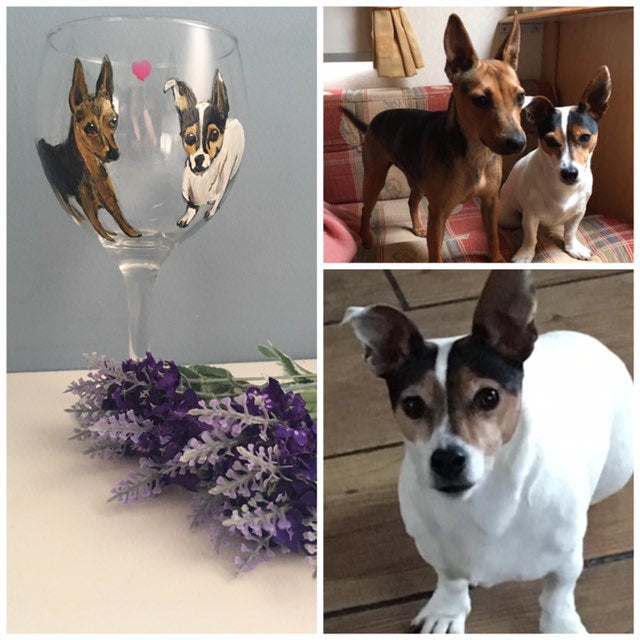 Pet portrait, glass, gin glass, for pet lovers, for gin lovers, gin gift, pet gift, cat glass, dog glass, animal glass