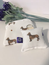 Load image into Gallery viewer, Sausage dog, daschund, coin purse, keyring, gift set, for sausage dog lovers, sausage dog gift
