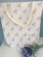 Load image into Gallery viewer, Whippet, bag, tote bag, for whippet lovers, whippet gift