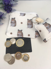 Load image into Gallery viewer, Hamster purse and keyring set, gift set