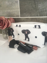 Load image into Gallery viewer, Monkey, chimpanzee, makeup bag, cosmetics bag
