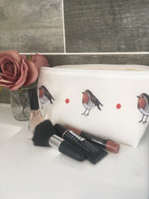 Load image into Gallery viewer, Robin, makeup bag, cosmetics bag