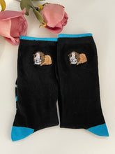 Load image into Gallery viewer, Guinea pig socks, ladies socks, guinea pig gift idea, READ DESCRIPTION