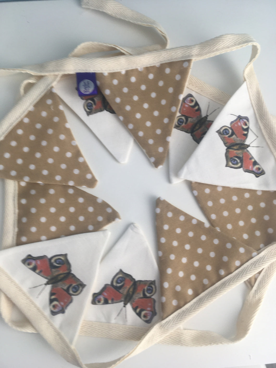 Butterfly bunting, garland, decor