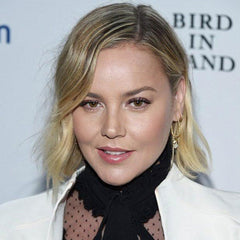 abbie cornish wears liven small diamond huggies