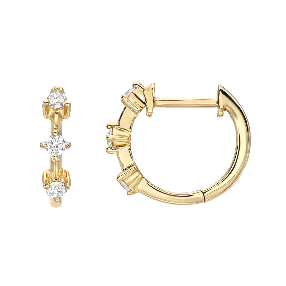 past present future souli gold huggie hoops