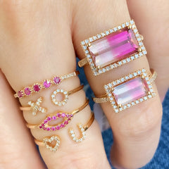 liven romantic rings