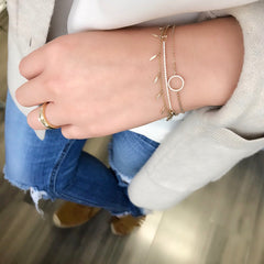 Diamond Bar Bangle