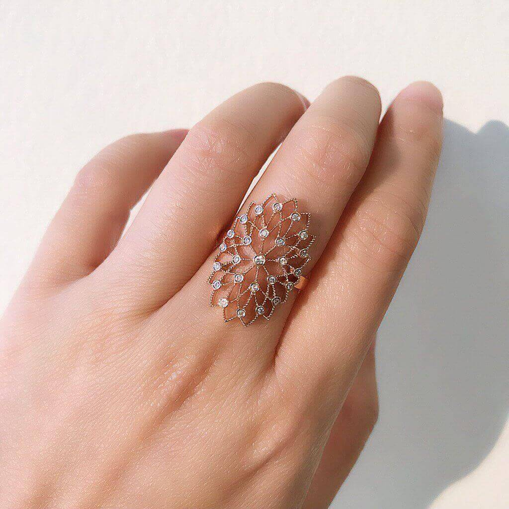 Lace Filigree Ring