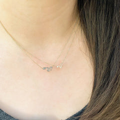 snake diamond necklaces