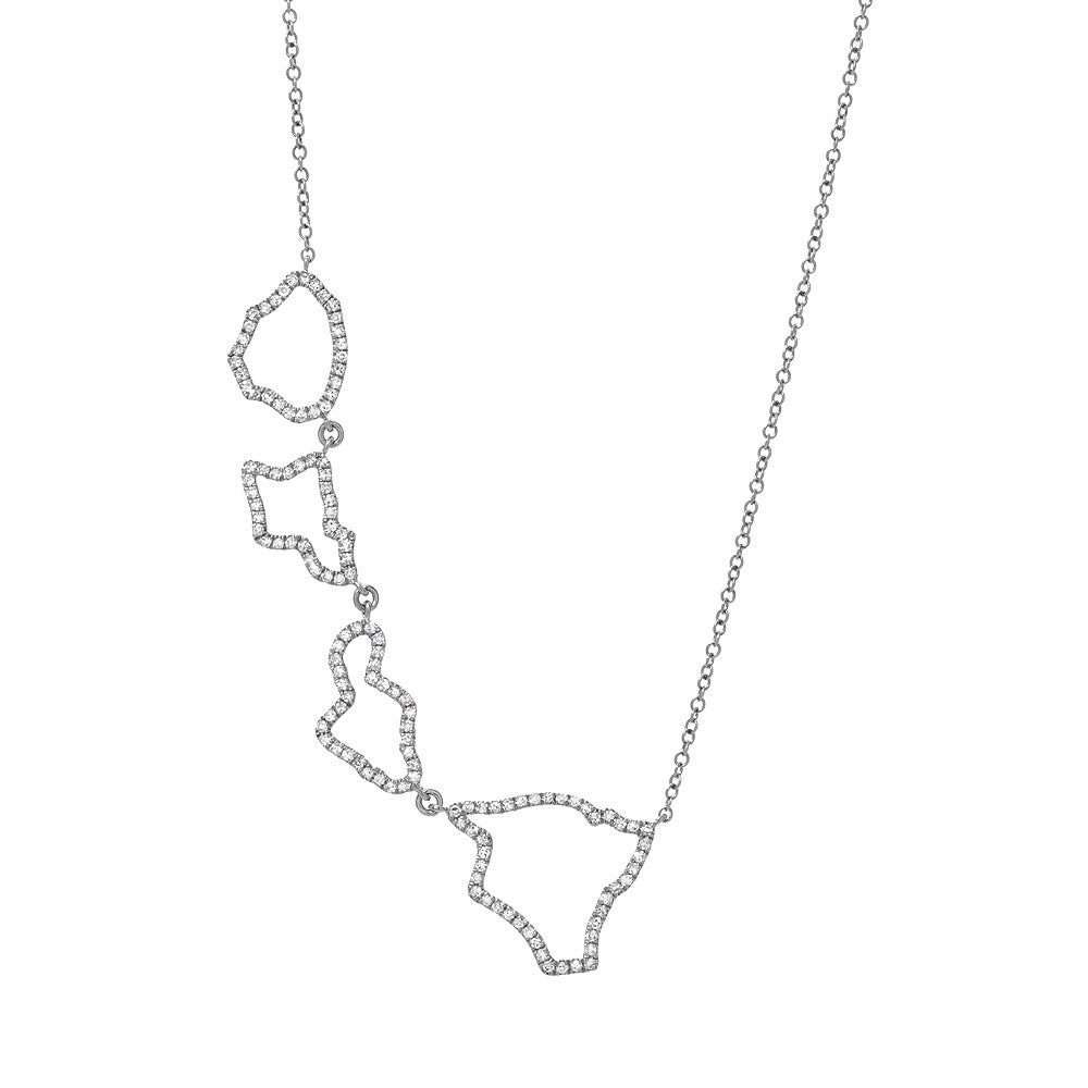 hawaii islands necklace