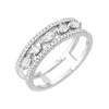 heirloom ultimate bridal band in 14k whitegold with diamonds