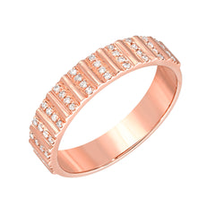 texture diamond band