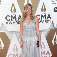 Colbie Caillat wears our 7mm Rosies on the Red Carpet at the CMA awards