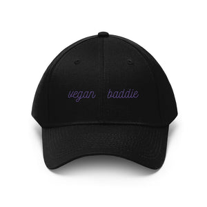 Vegan Baddie Hat (Black)