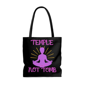 Temple not Tomb Tote