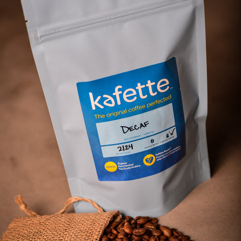 Premium Organic Decaf Coffee - 8 oz