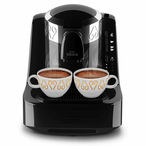 Kafette Turkish Coffee Machine by Okka - Chrome