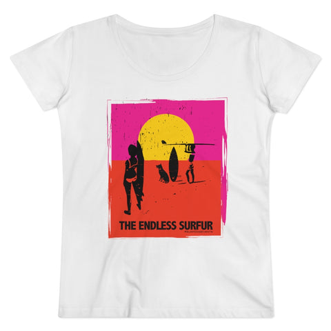 Organic Women's Endless SurFUR T-shirt