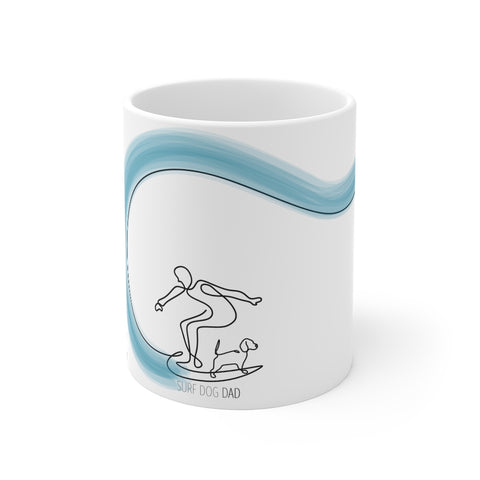 Surf Dog Dad - Mug 11oz
