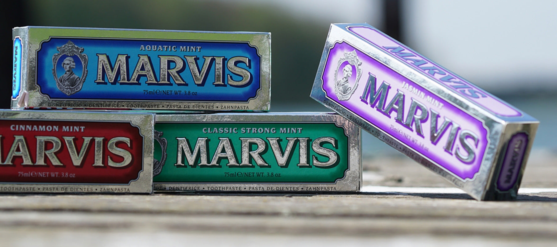 Marvis Mint Banner