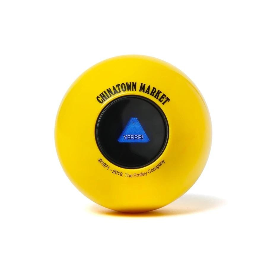 China Town Market Accessories Smiley Magic 8 Ball