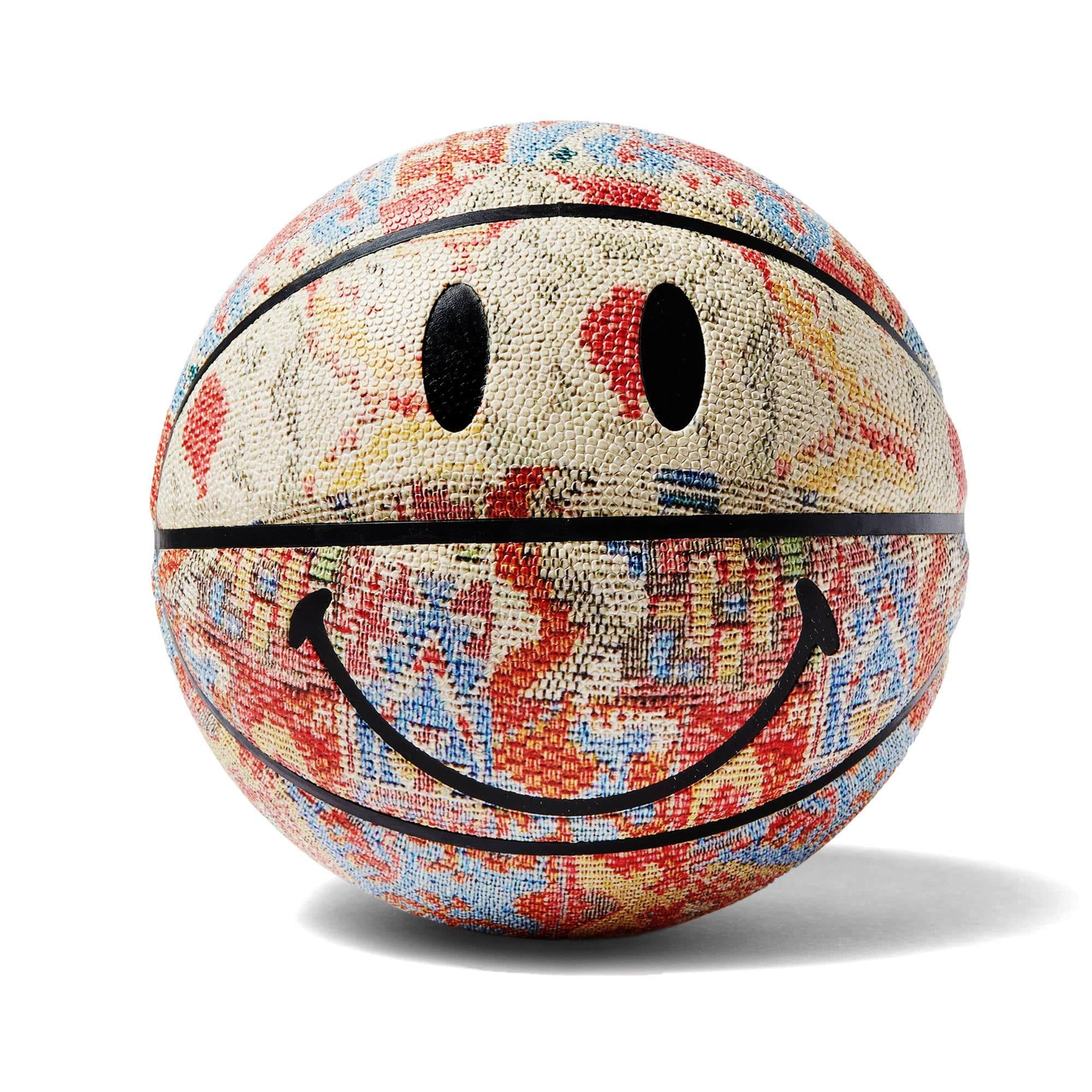 China Town Market Accessories Smiley Patchwork Rug Basketball