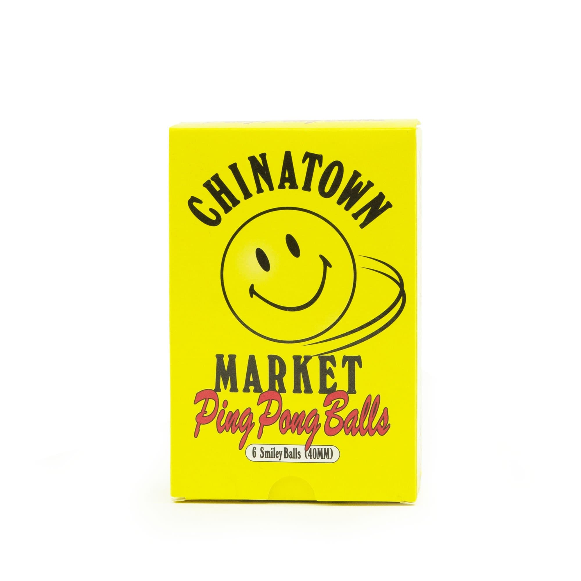China Town Market Accessories Smiley Ping Pong Balls